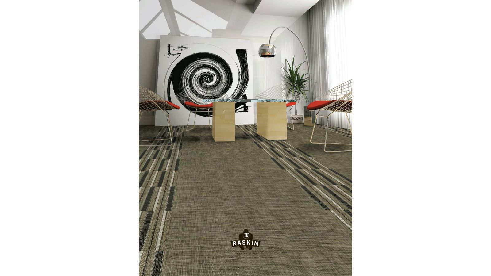 Elevations INTERWOVEN LOOSE LAY TILE