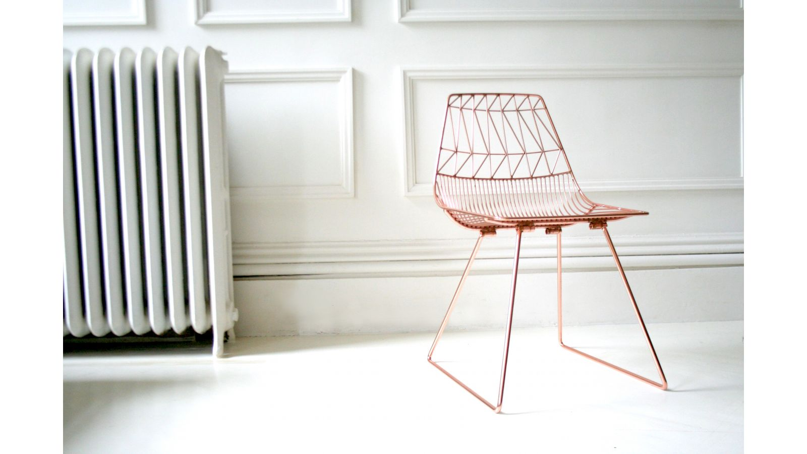 Lucy Side Chair - Copper Finish