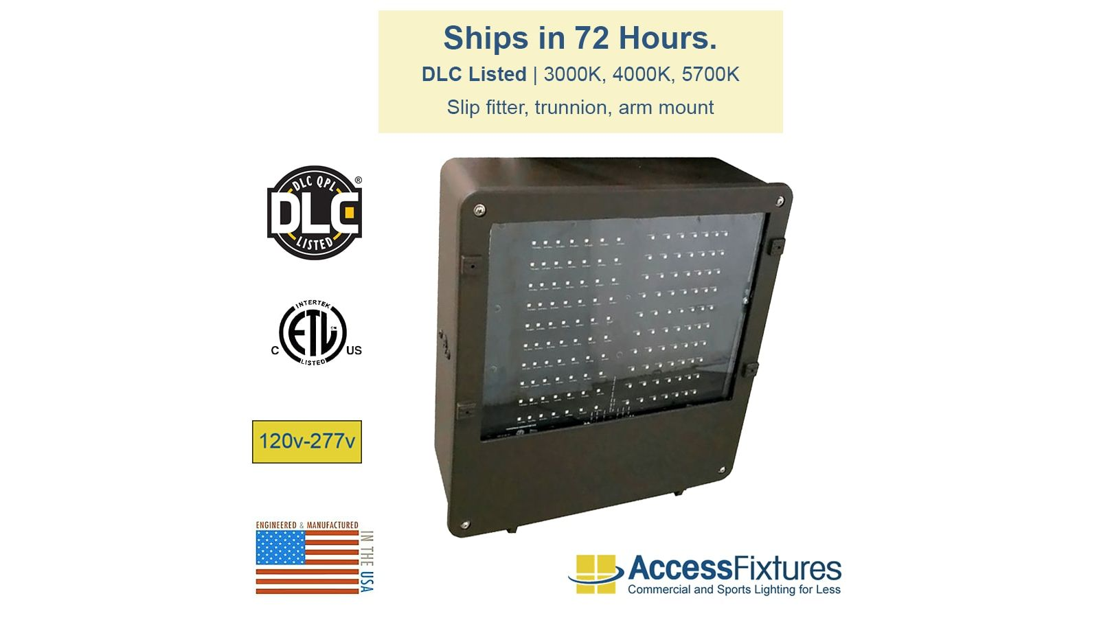 BOXE 221w LED Shoebox 120-277v – Ships in 72 Hours