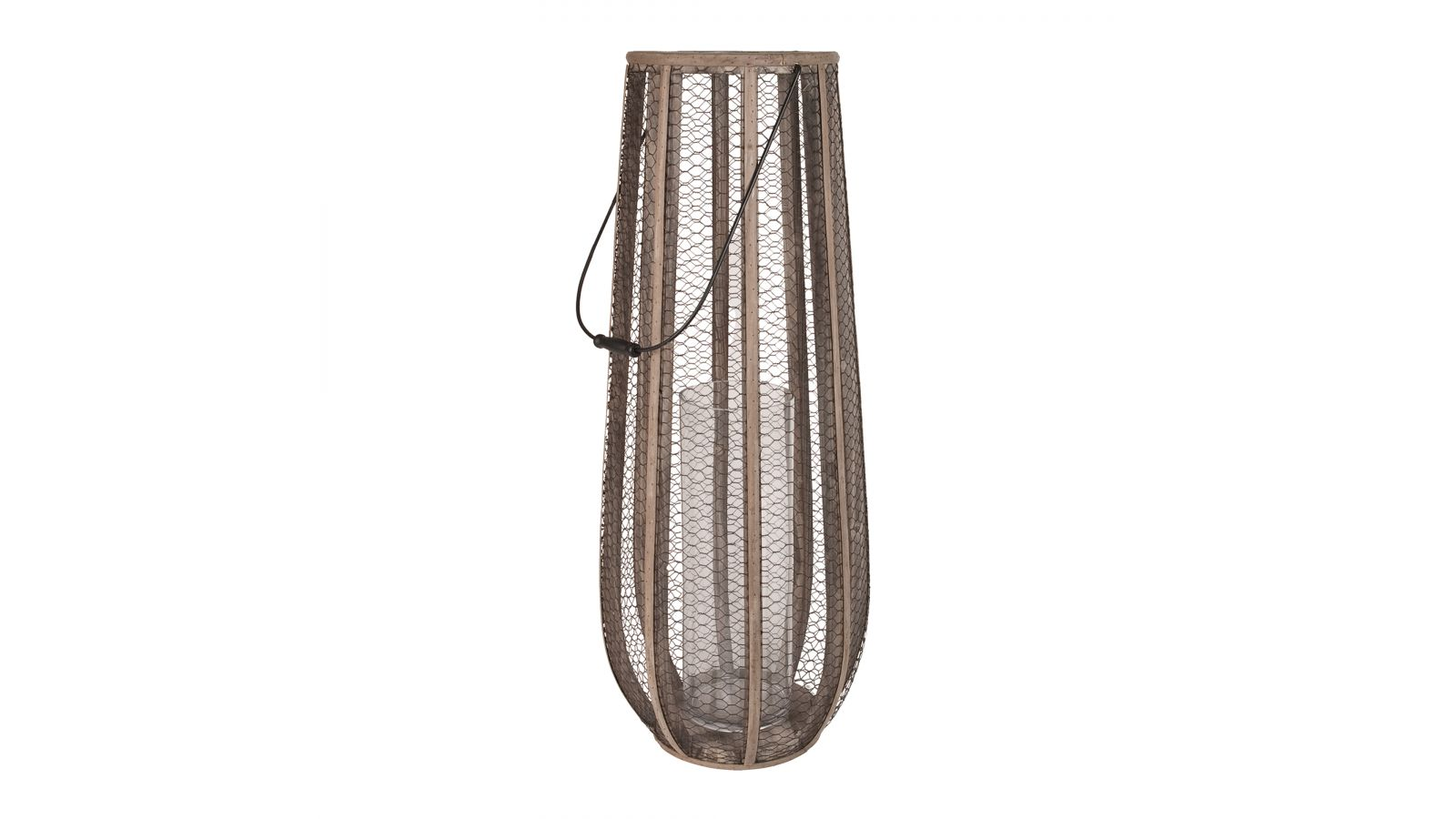 594029 - Slim Wire Atlas Hurricane Vase