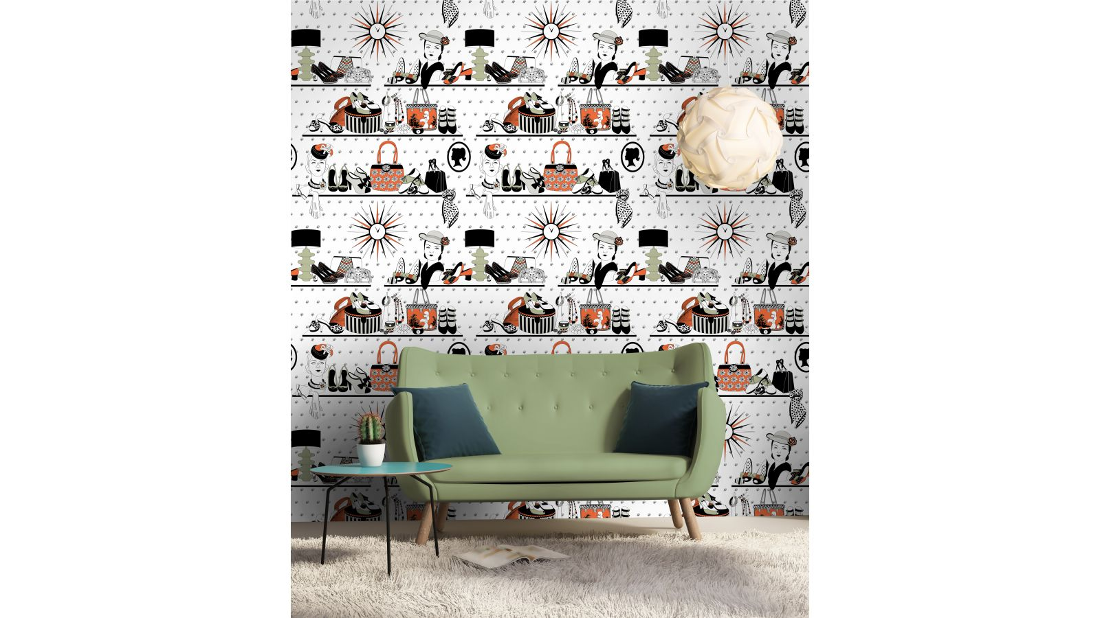Accessories Wallpaper (colour)