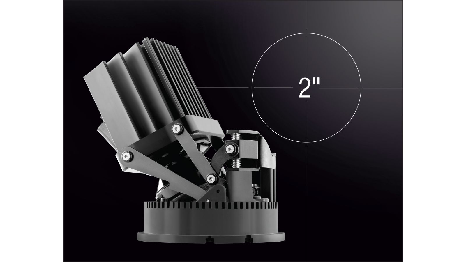 Aculux 2-inch LED Precision Luminaires