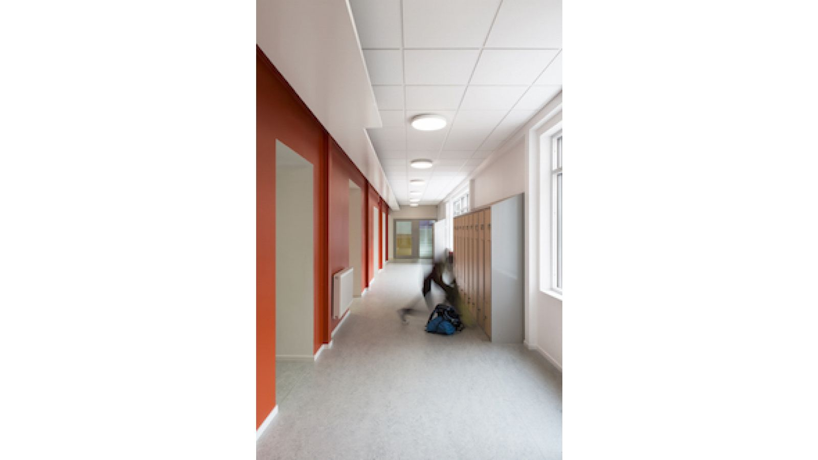 ROCKFON Pacific reveal edge, acoustic stone wool ceiling panels