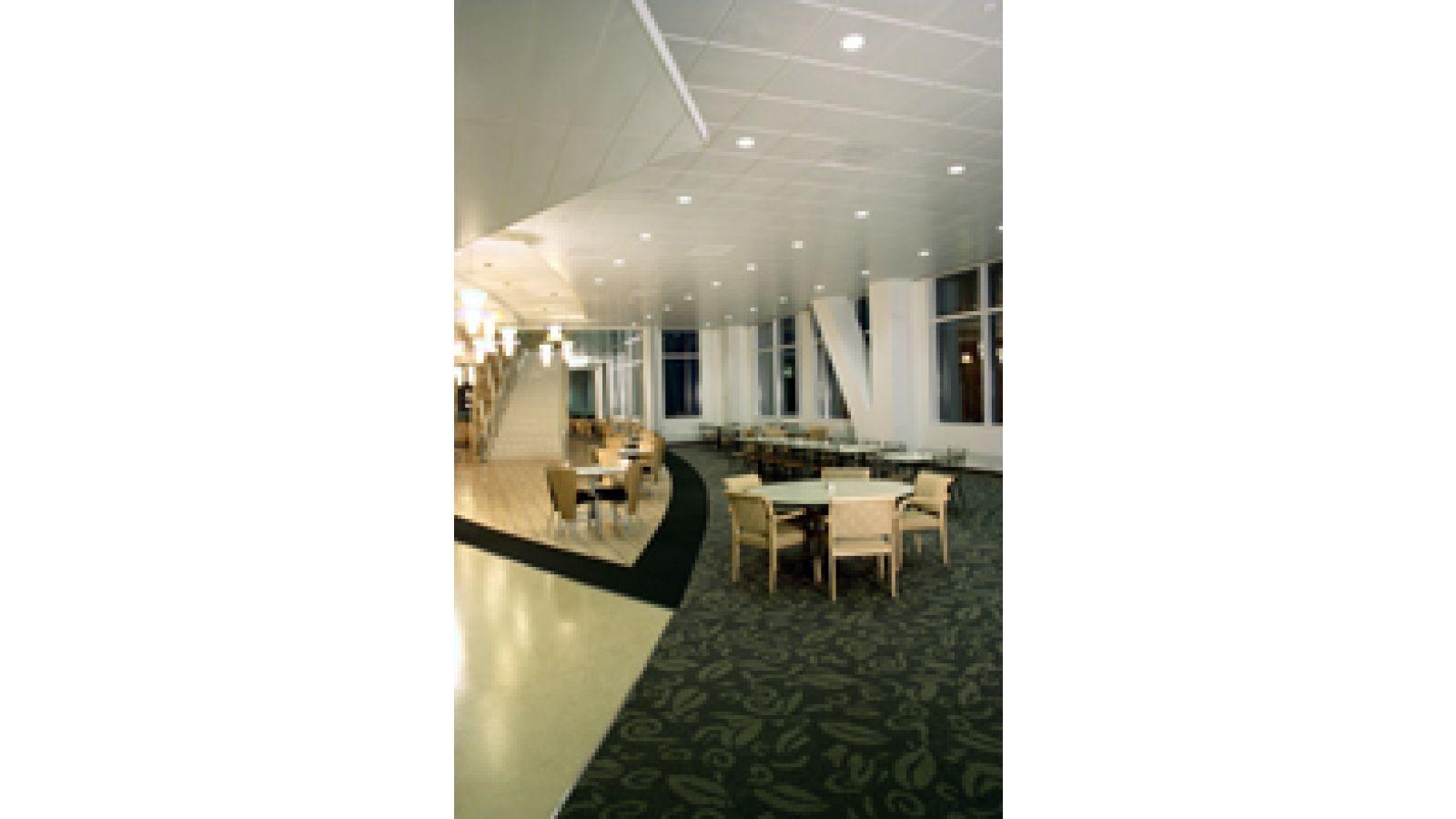 ROCKFON Planostile panels with flush reveal profile
