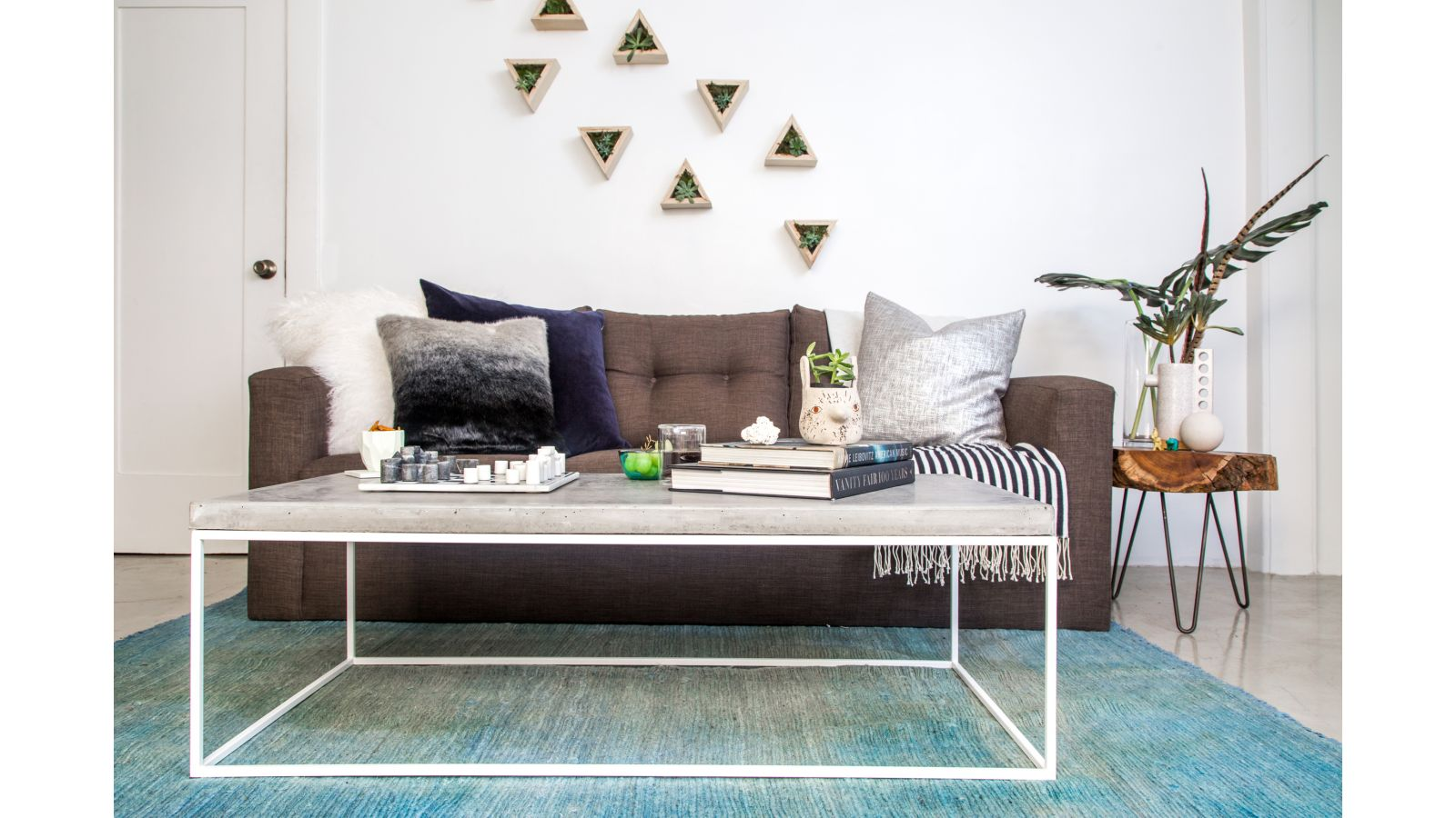 Oakland Coffee Table-White