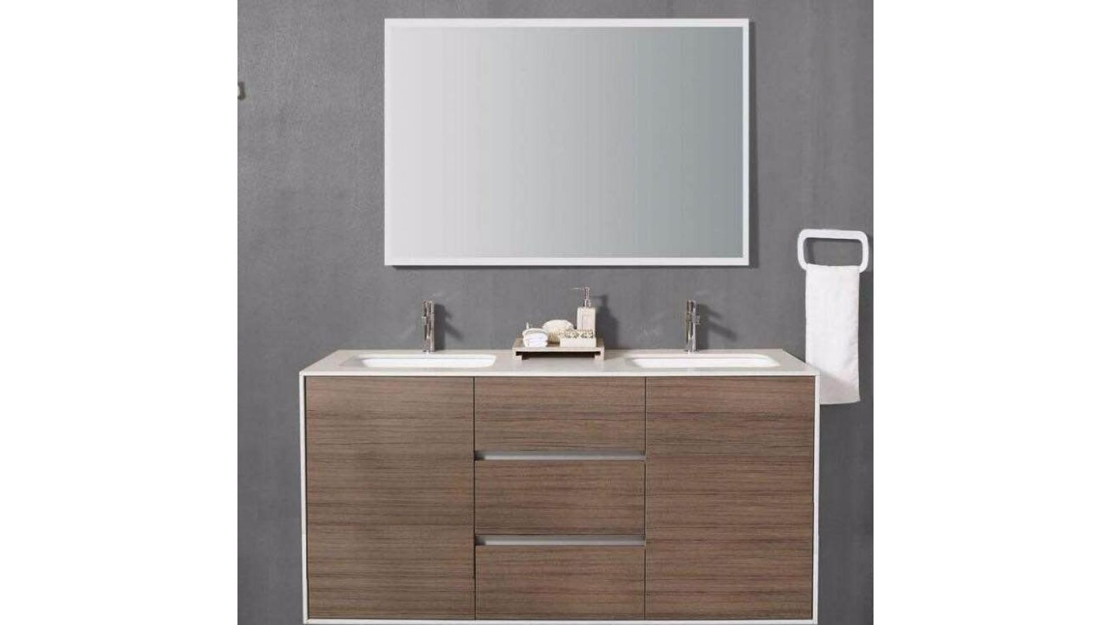 Artevit Double Sink Bathroom Vanity