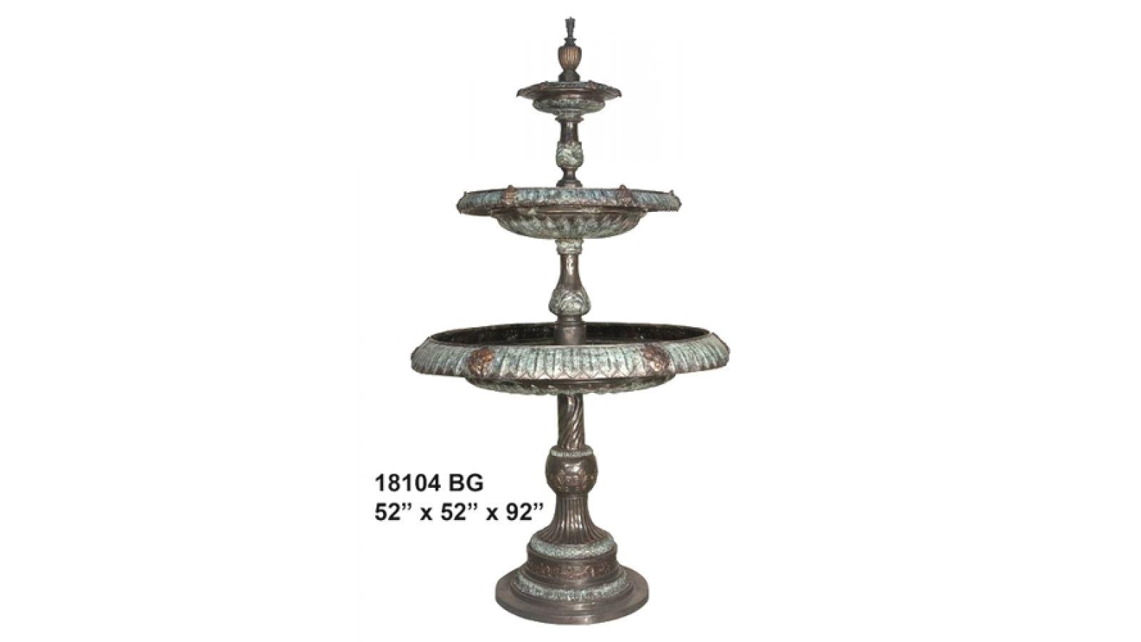 Bronze Decorative Water Fountains