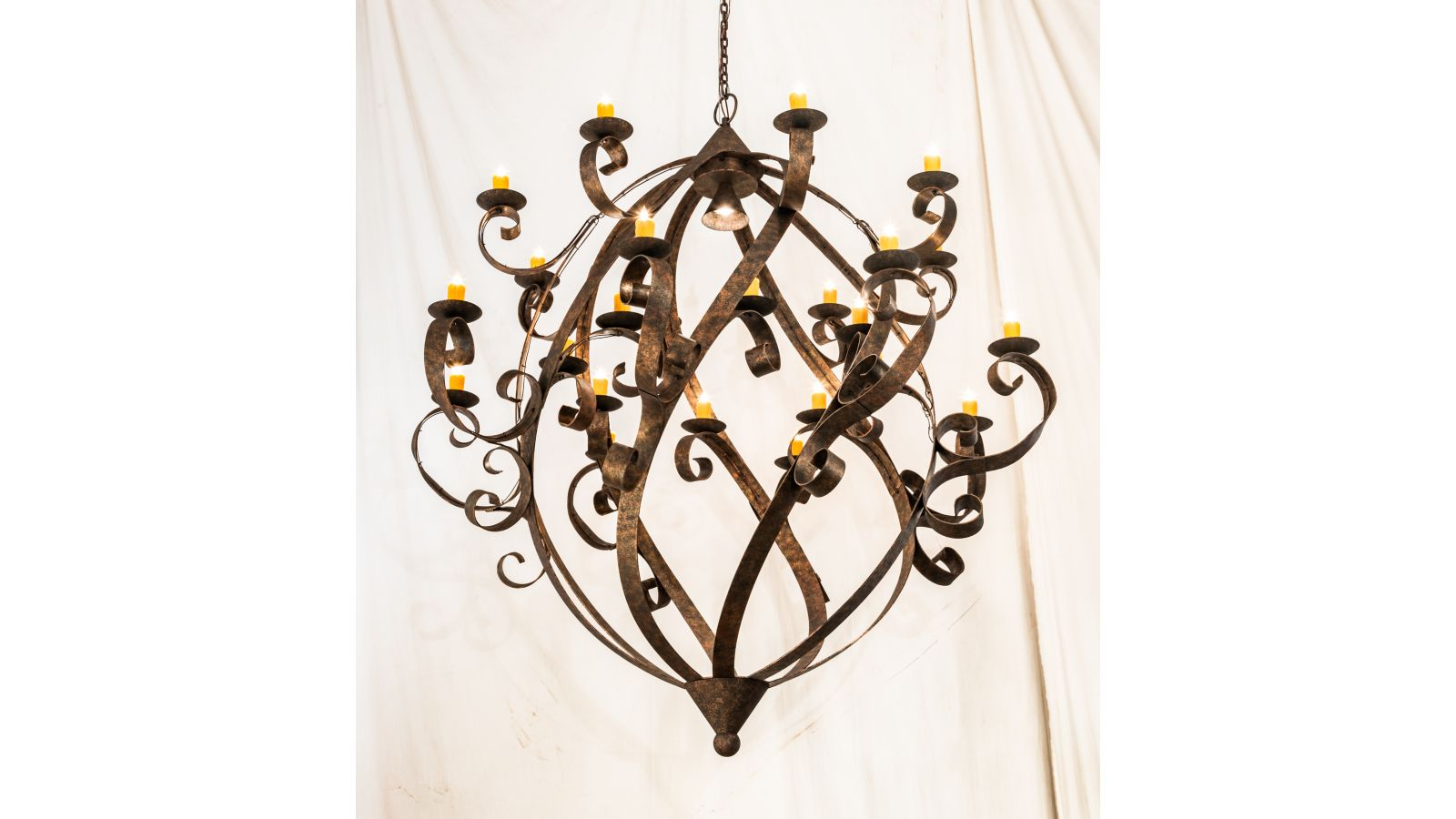 """2nd Ave Lighting to introduce 80"""" Wide Caliope Chandelier"""