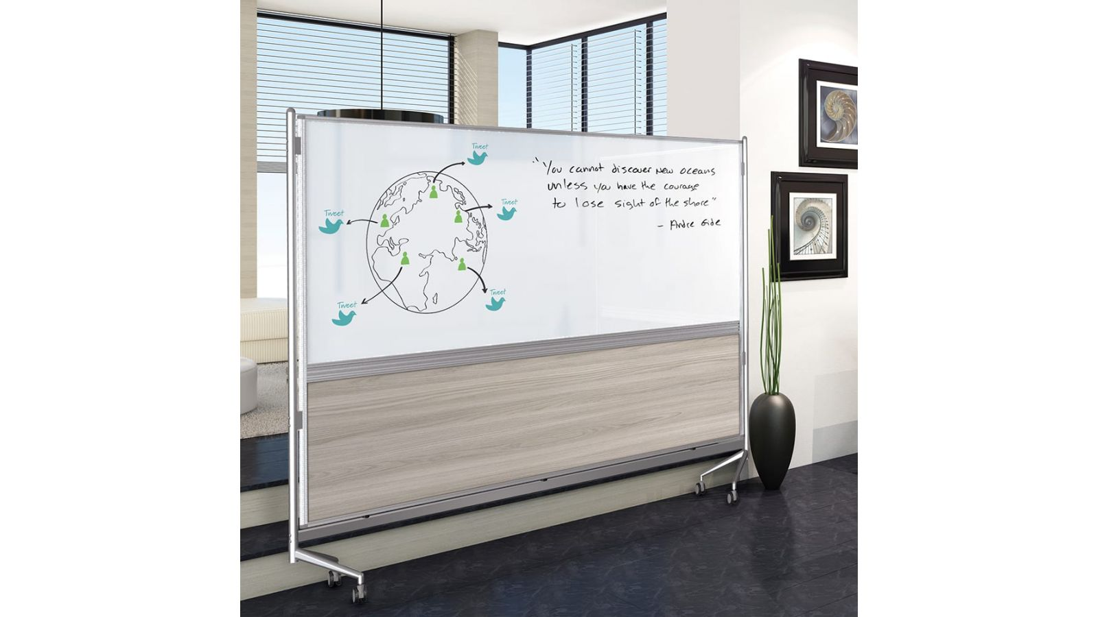DOC InMotion Mobile Room Divider