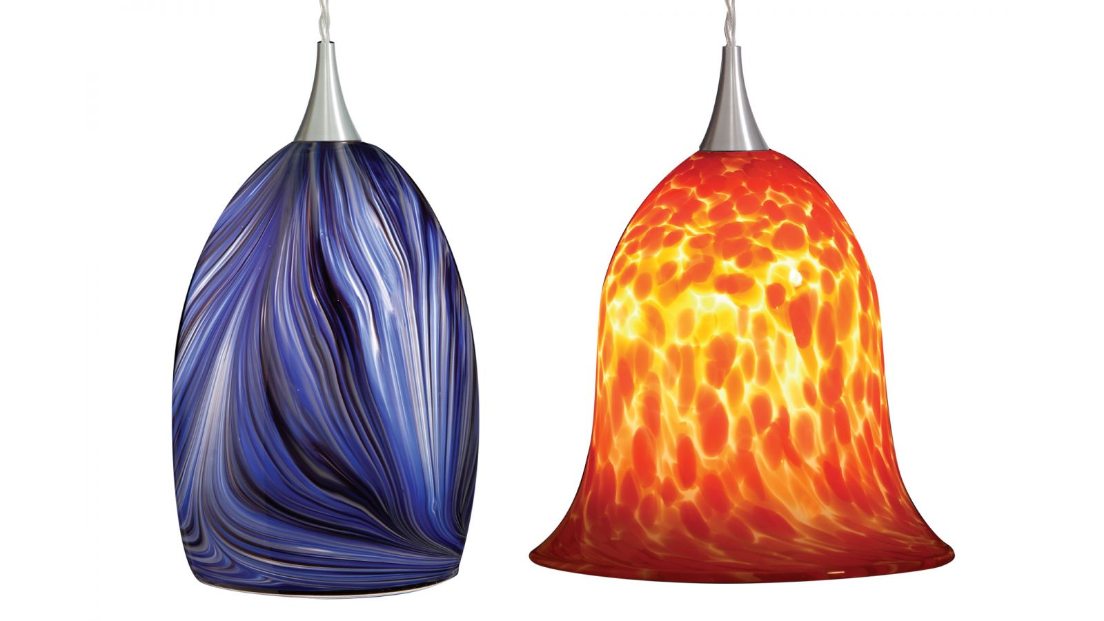 Halo LED Art Glass Collection