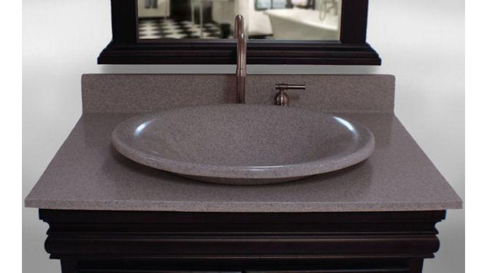 Fashion Gray Royalgranite Vanity
