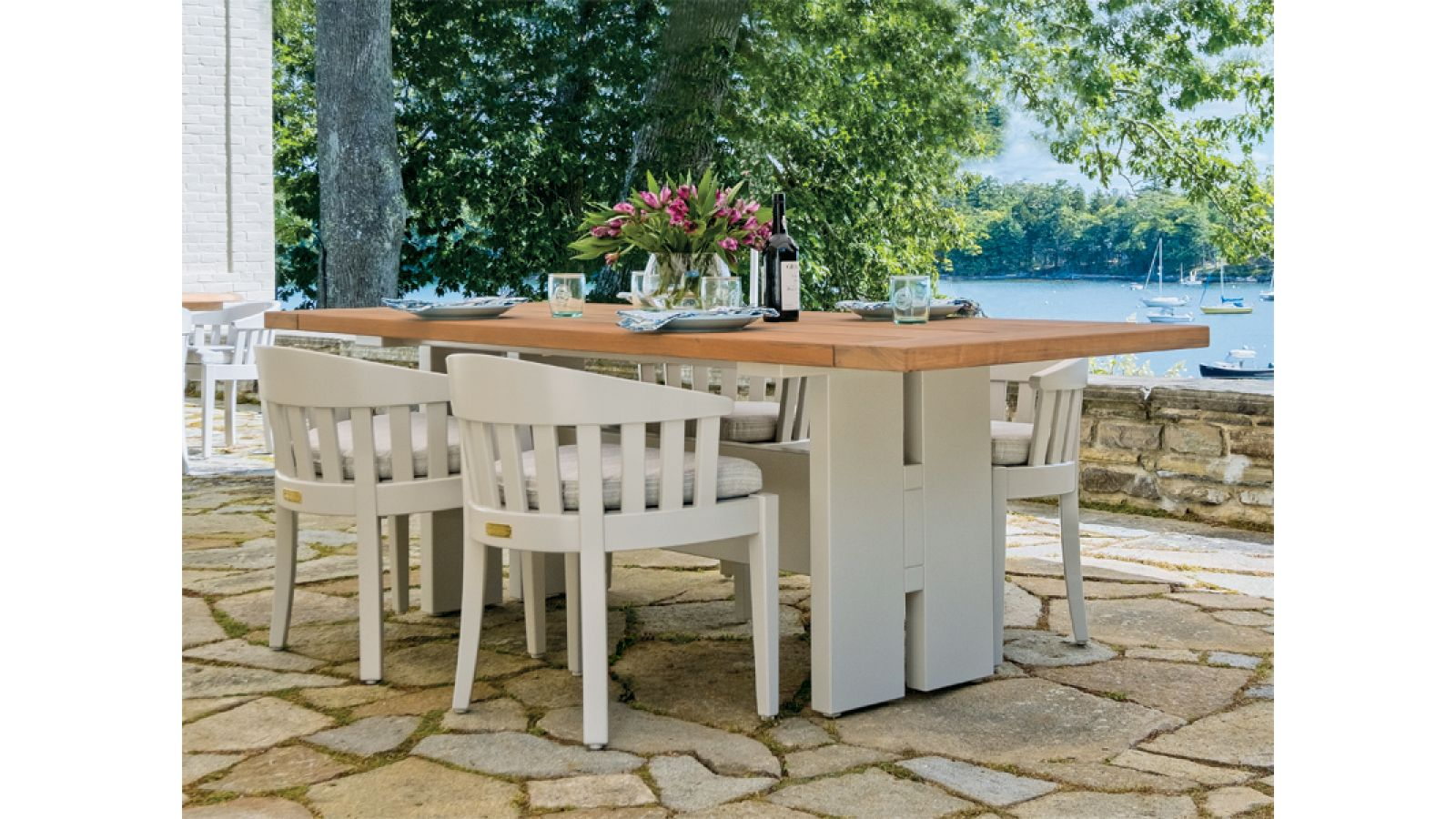 Weatherend Trestle Table