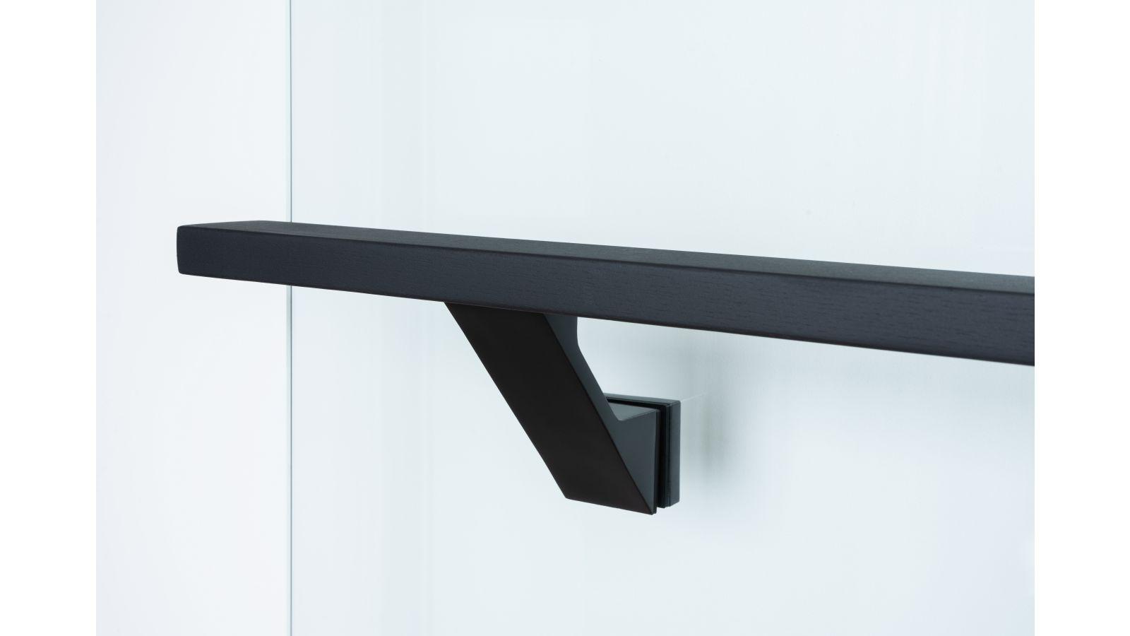 VS-Glass mounted handrail brackets