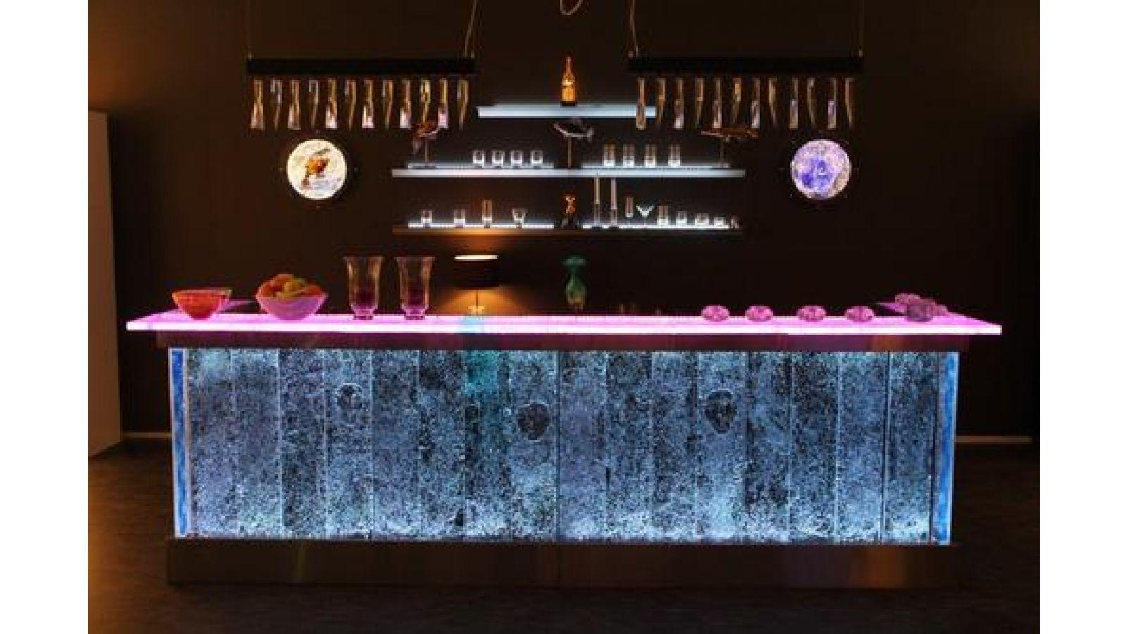 Kjell Engman-designed glass bar