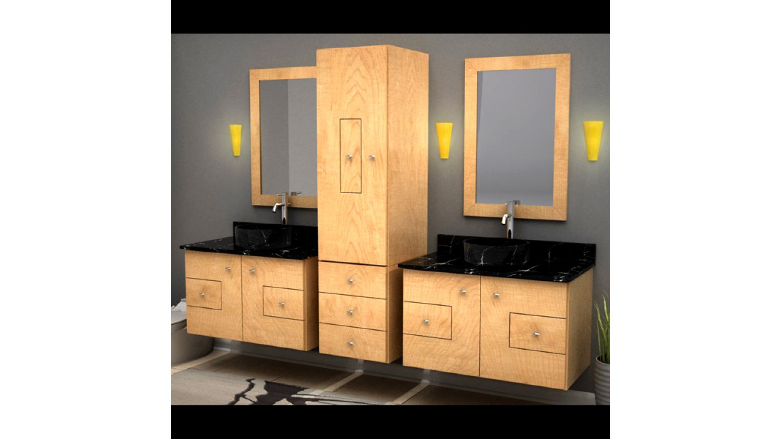 MDV Modular Wall Hung Cabinetry