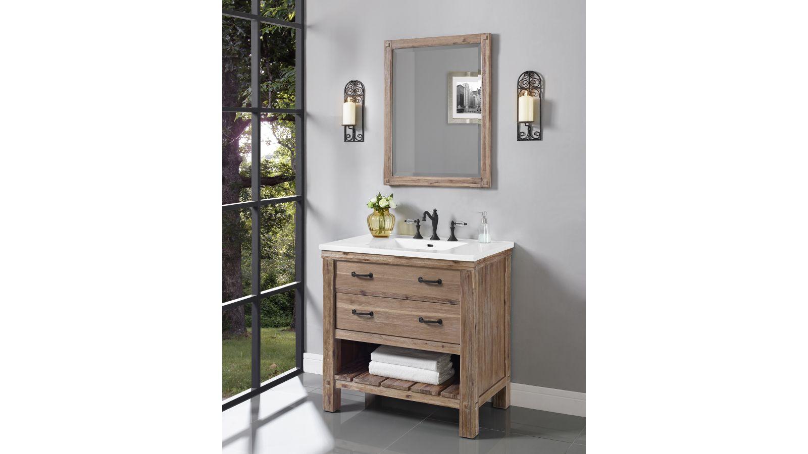 Napa 36 Open Shelf Vanity