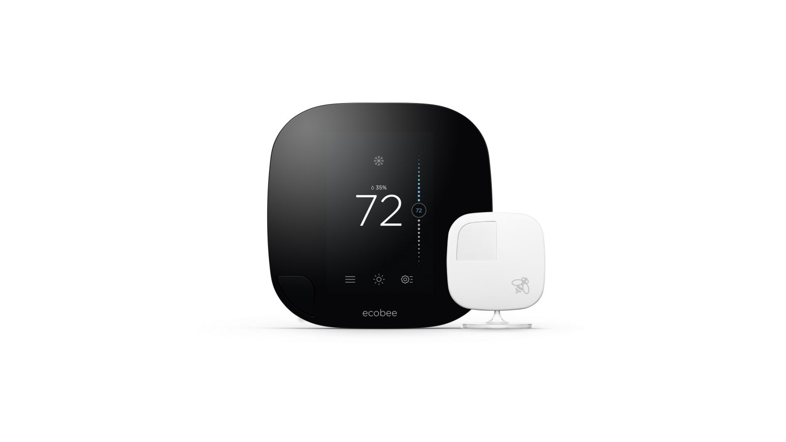 ecobee3 Smart Thermostat and Remote Sensors