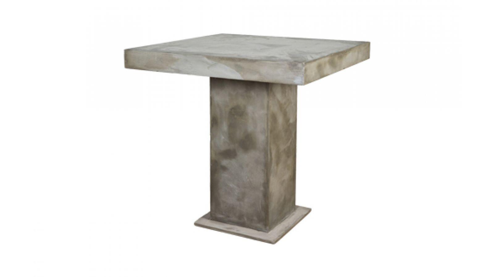 Concrete Pub Table