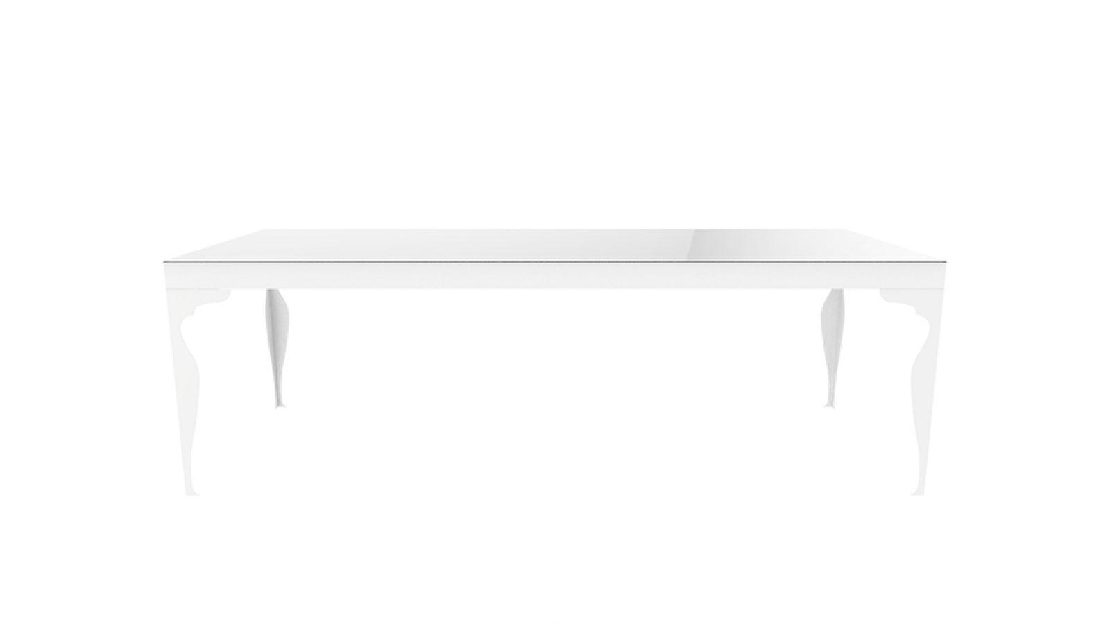 Napoli Table, Full Mirror Top