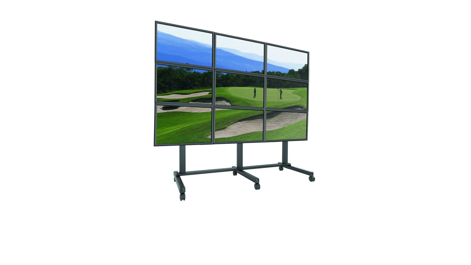 LVM FUSION Series Video Wall Carts