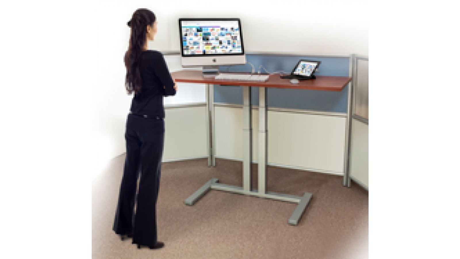 Cirrus Lift Roller TWO Stand-Up Desk