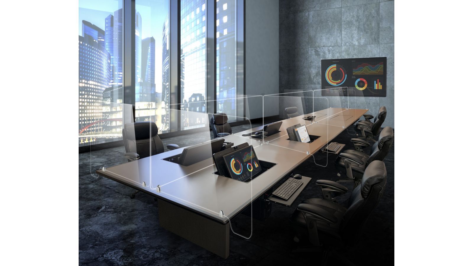 SAFEDESKS Customized Solutions for the New Workplace