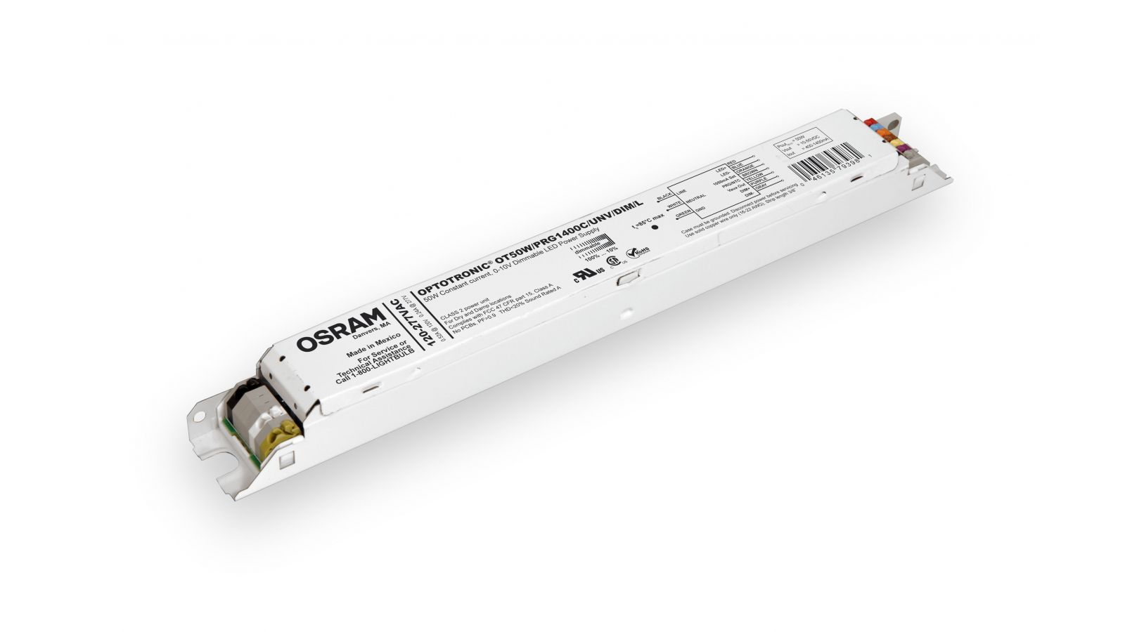 OSRAM OPTOTRONIC Programmable Linear Constant Current Dimmable LED Power Supplies