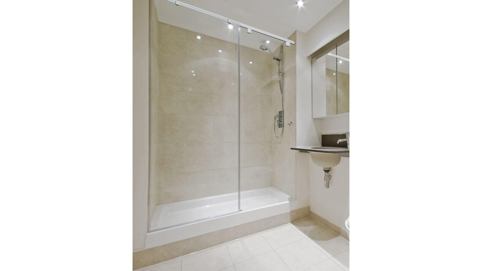 CRL Cabo Series Soft Slide Shower Door System