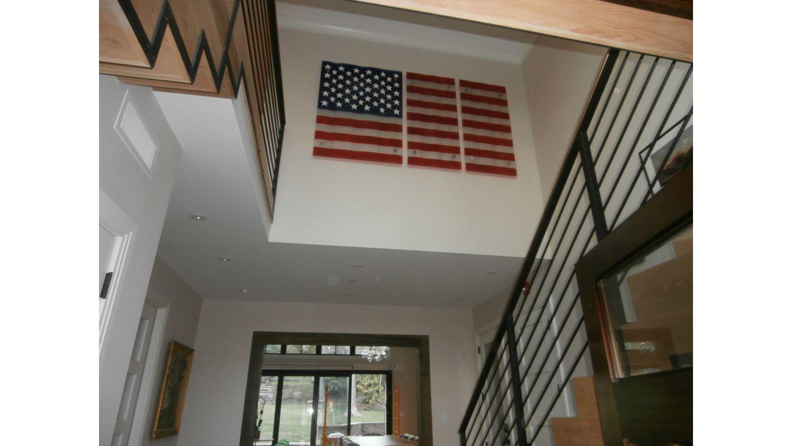 Fusion Glass American Flag