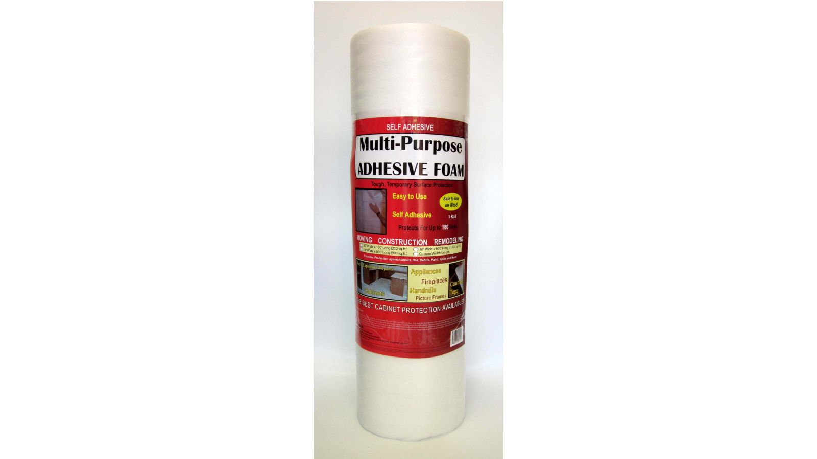 Protecta-foam multipurpose surface protection