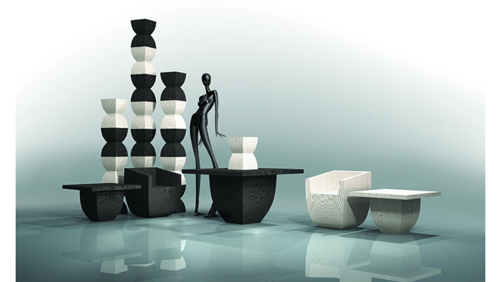 Modular Art & Furniture Collection