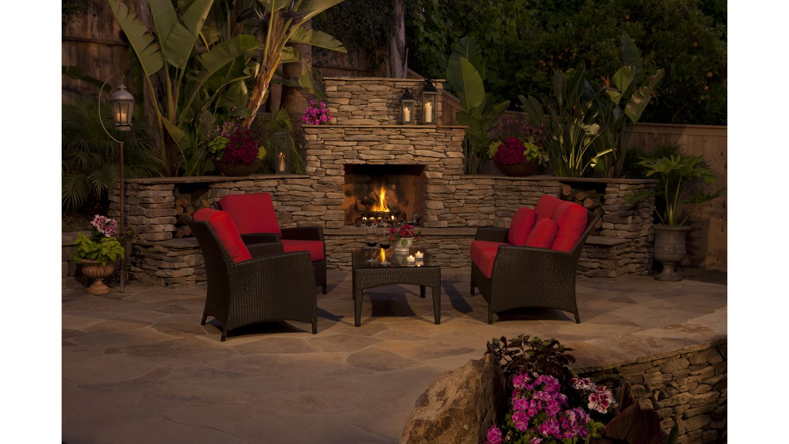 Eldorado Outdoor Wood Burning Fireplace