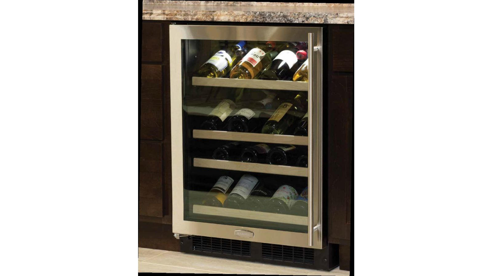 24 Marvel High-Efficiency Gallery Wine Cellar