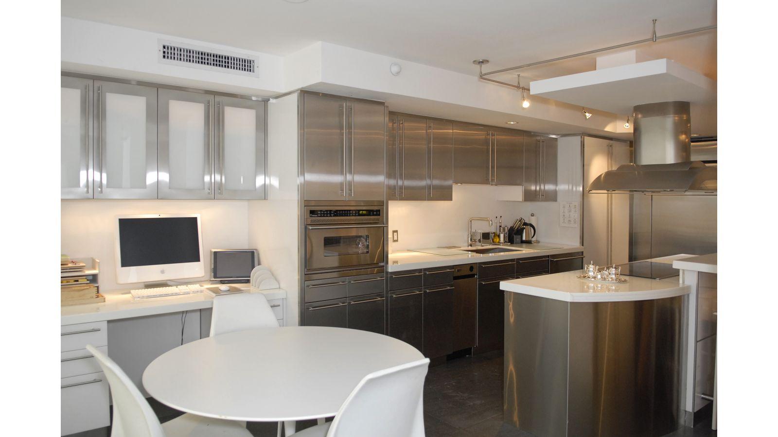 Indoor Stainless Steel Kitchens