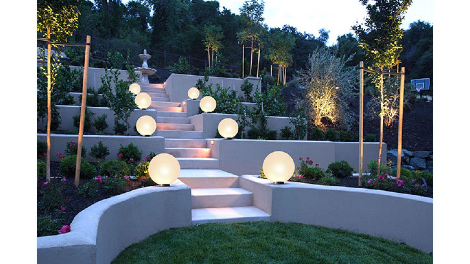 Outdoor Sphere Lighting
