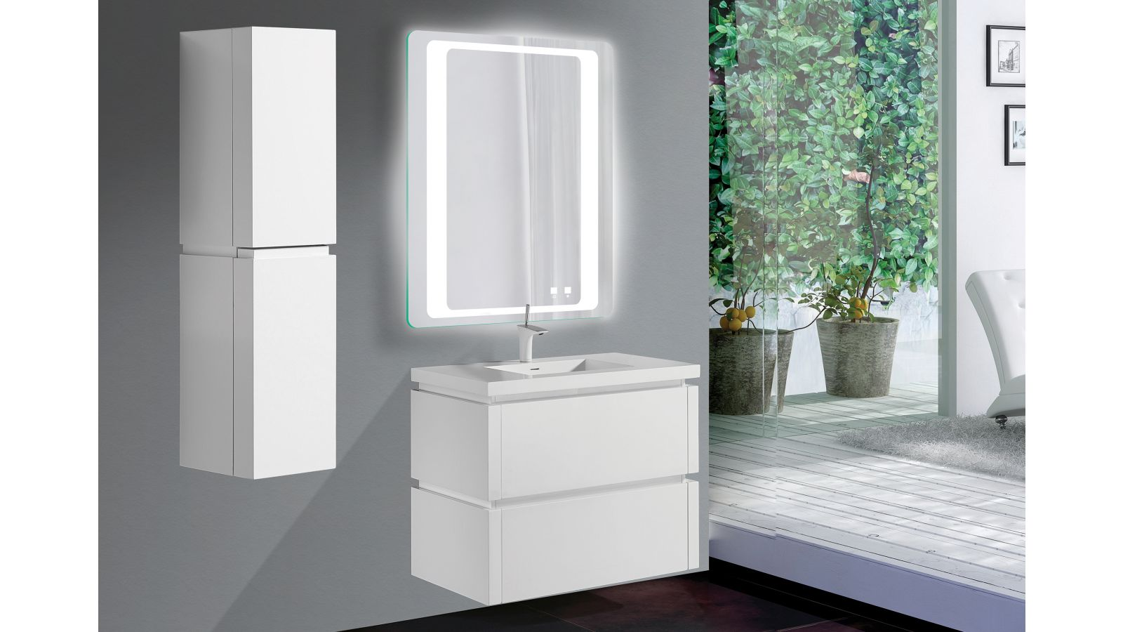 The Vision Illuminated Slique™ Mirror Collection