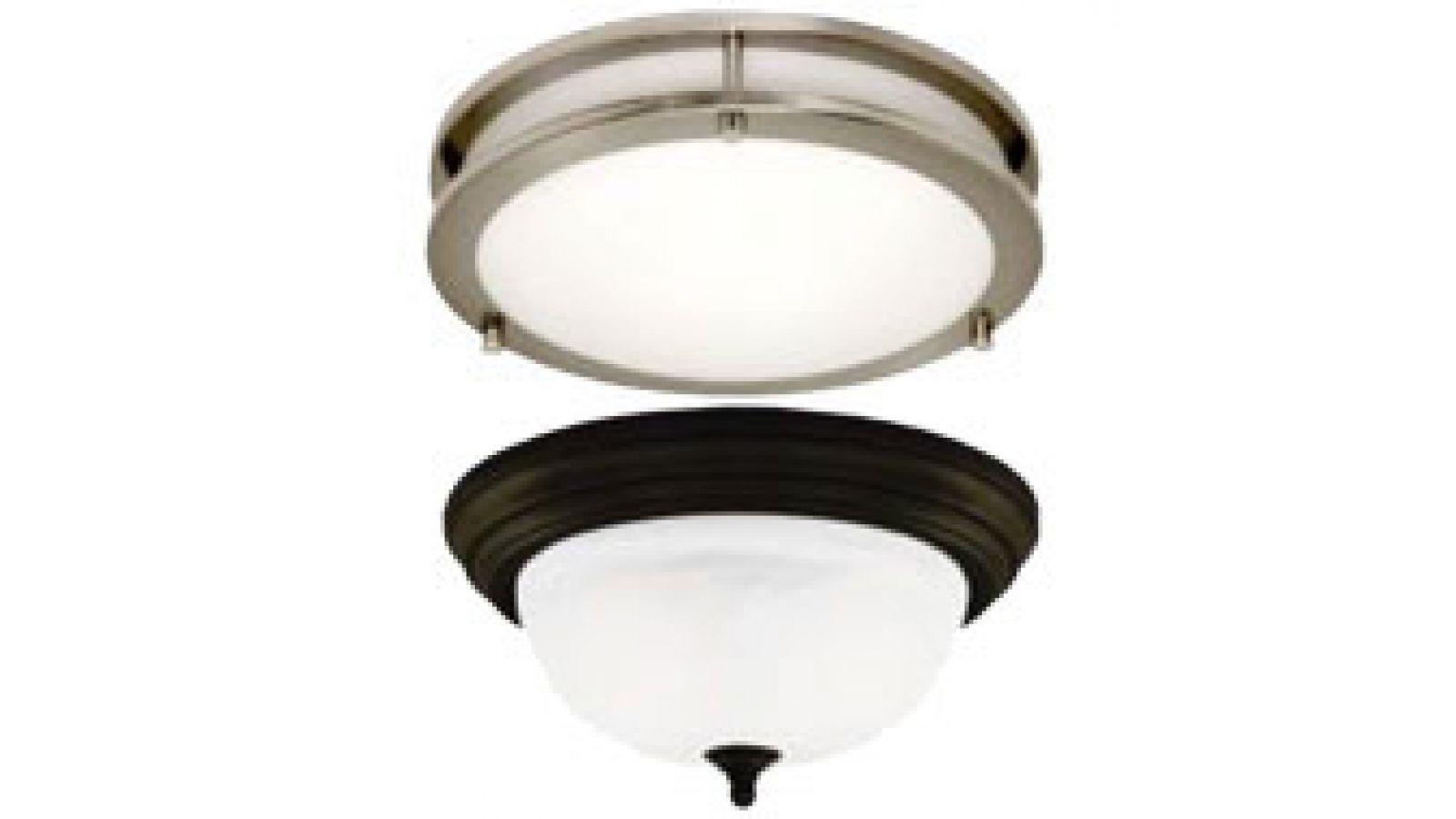 LED Flush Mount Ceiling Fixtures
