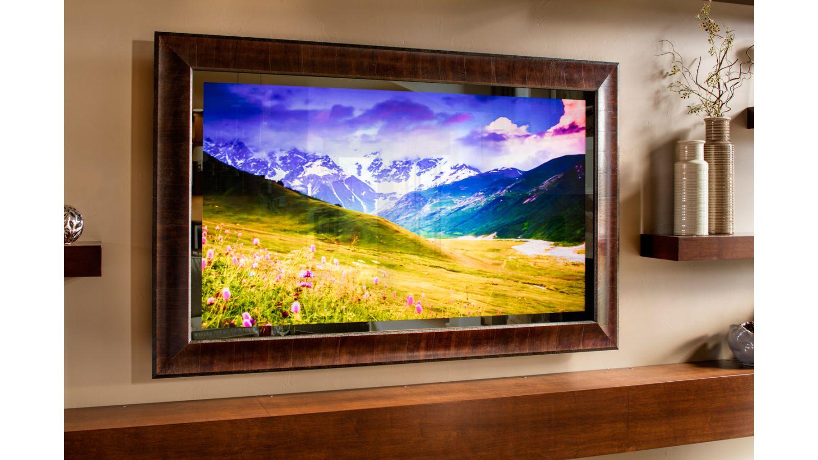 Vanishing Entertainment TV Mirror
