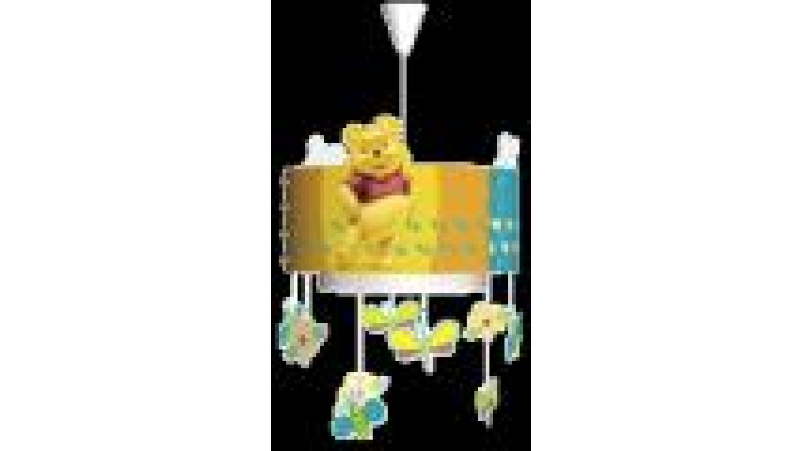 Winnie the Pooh Ceiling Lamp Multicolor