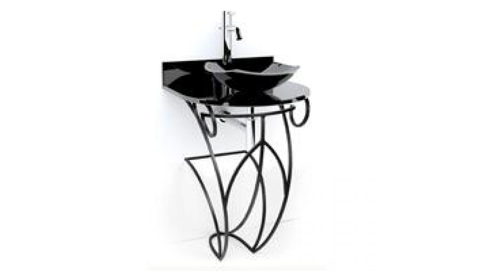 Victoria Wrought Iron Pedestal