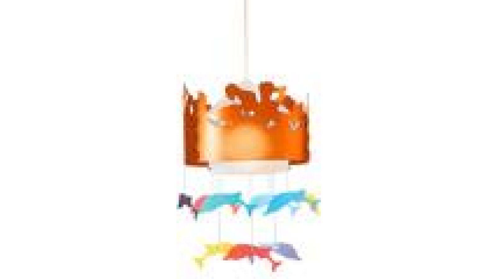 Please Love Me Ceiling Lamp New Orange
