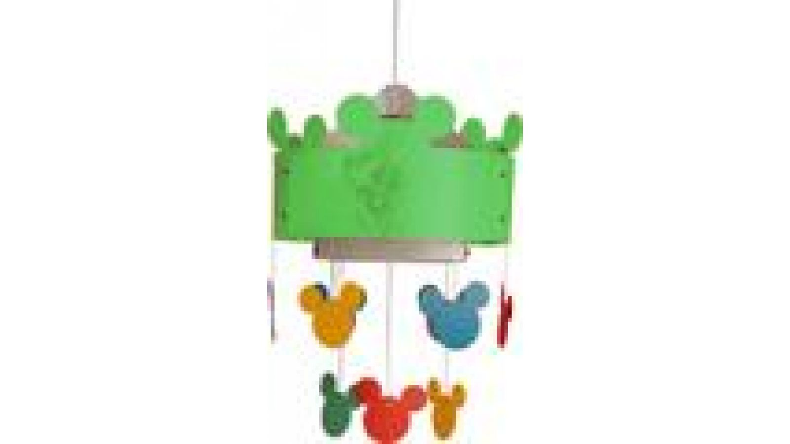 Mickey Mouse Ceiling Lamp New Green