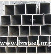various type galvanized square steel pipe