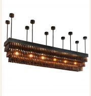 Meyda Custom Lighting Beer Garden Chandelier