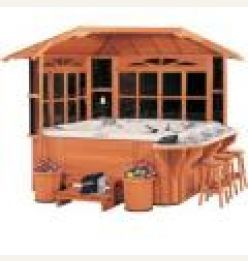 Design journal archinterious northeast gazebo by cal spas for Cal spa gazebo