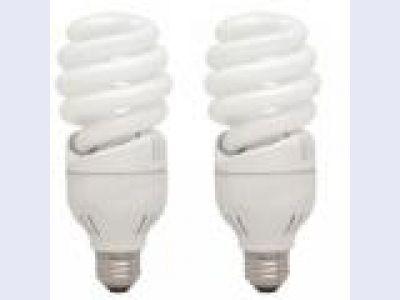 GE 42 Watt Spiral Compact Fluorescent Lamp