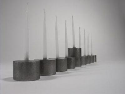 Shine 2 - Hanukkah Cylindrical Menorah Sets