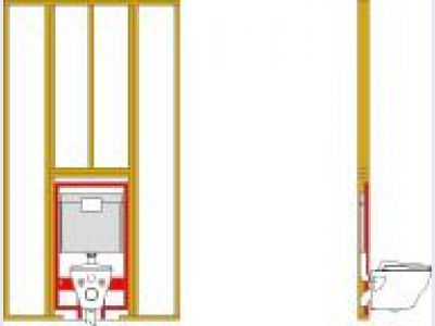 DuoFit In-Wall Tank System