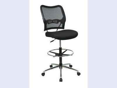 SPACE Air Grid Back & Mesh Seat Drafting Chair