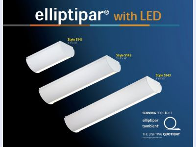 S14x LED Wall Washer Family by elliptipar